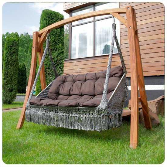 Деревянный каркас VILLA для подвесного кресла FORTALEZA и качелей VILLA фото
