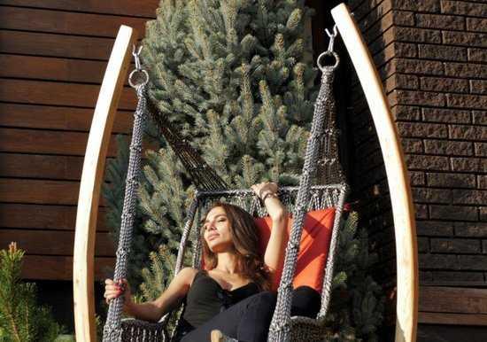 Фото №9 Деревянный каркас ФОРК для подвесного кресла качелей ИНКА