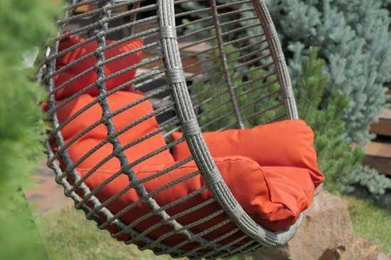 Подвесное кресло гамак АКАПУЛЬКО на каркасе фото
