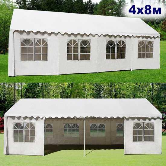 Садовый шатер 4x8м AFM-1027W фото