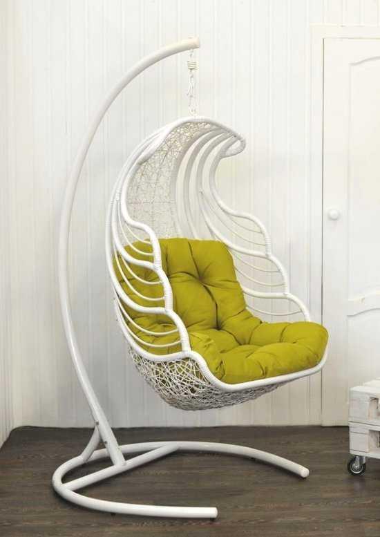Подвесное кресло Shell + каркас фото