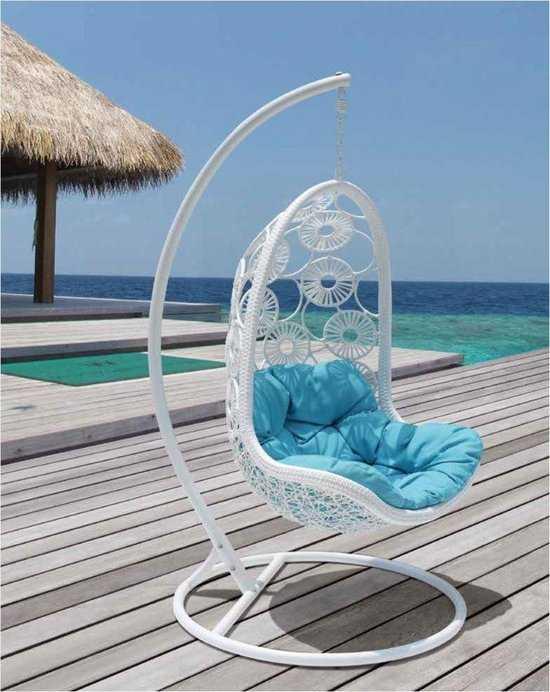 Подвесное кресло Flowers + каркас фото
