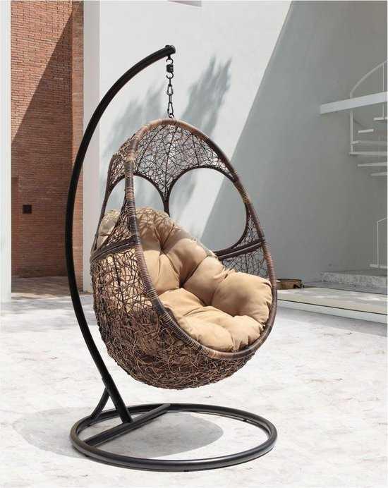 Подвесное кресло Solar + каркас фото