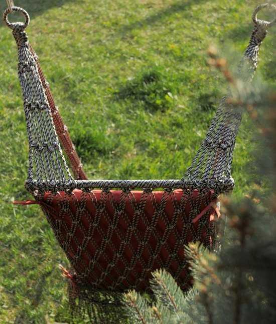 Фото №5 Подвесное кресло качели ИНКА в комплекте с подушкой