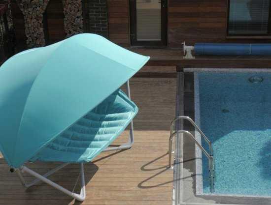 Фото №5 Подвесное кресло гамак ИБИЦА (цвет бирюзовый)