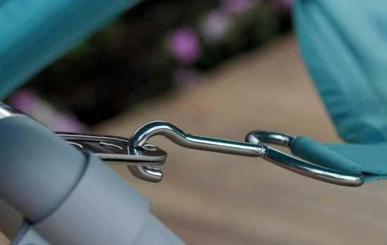 Фото №6 Подвесное кресло гамак ИБИЦА (цвет бирюзовый)