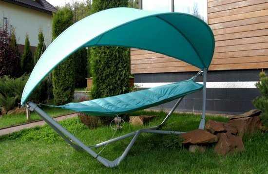 Фото №7 Подвесное кресло гамак ИБИЦА (цвет бирюзовый)