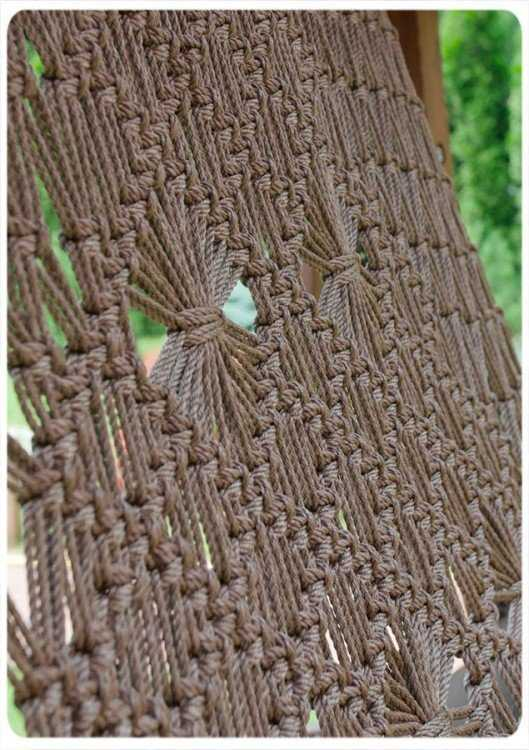 Фото №10 Подвесное кресло качели SEARA в комплекте с подушками (без каркаса)