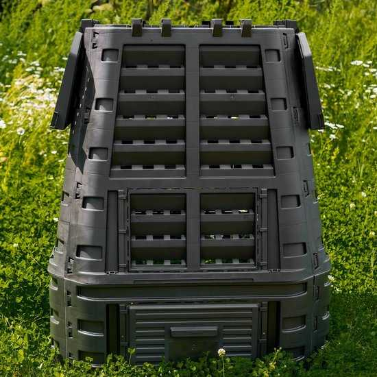 Компостер пластиковый GardenDreams (3 люка) фото