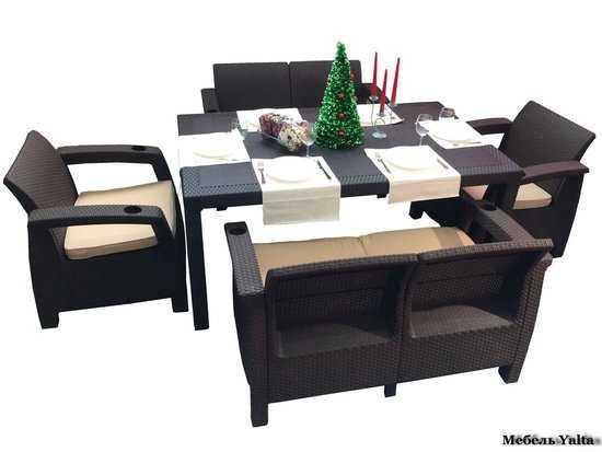 Комплект мебели для отдыха Yalta Family Set фото
