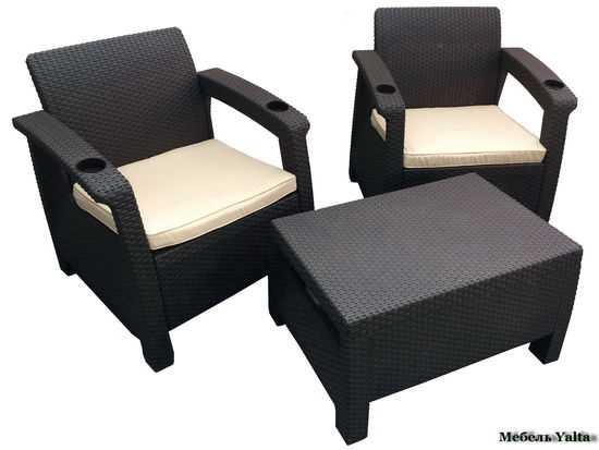 Комплект мебели для отдыха Yalta Balcony Set фото