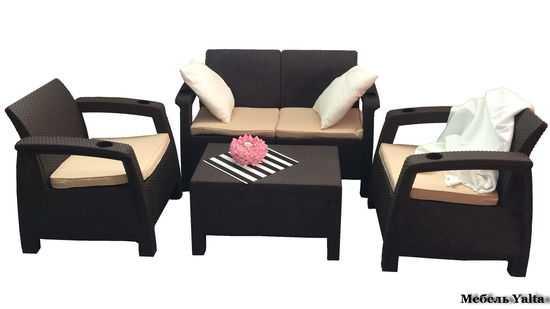 Комплект мебели для отдыха Yalta Terrace Set фото