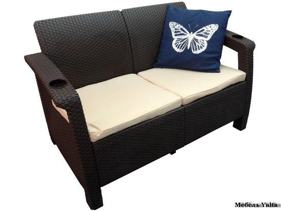 Двухместный диван для отдыха Yalta Sofa 2 Seat фото