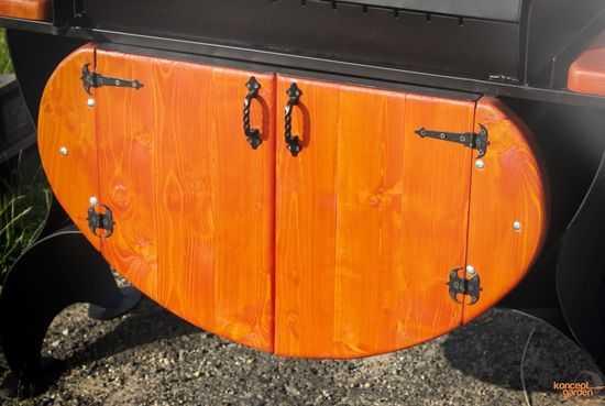 Дверцы для мангала КМ-8 фото