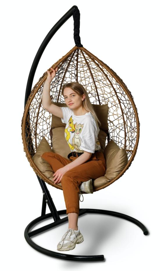 фото Подвесное кресло-кокон SEVILLA + каркас