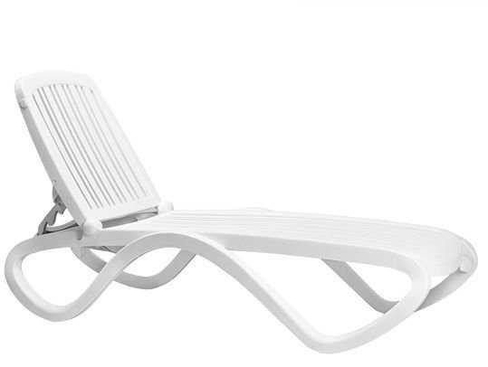 Шезлонг Tropico bianco фото