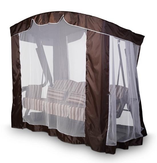 Фото №11 Тент-шатер для садовых качелей (с дугообразной крышей)