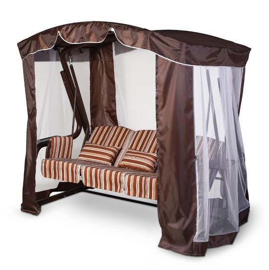 Фото №9 Тент-шатер для садовых качелей (с дугообразной крышей)
