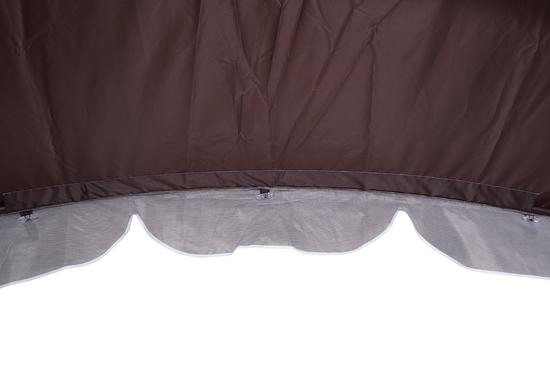 Фото №15 Тент-шатер для садовых качелей (с дугообразной крышей)