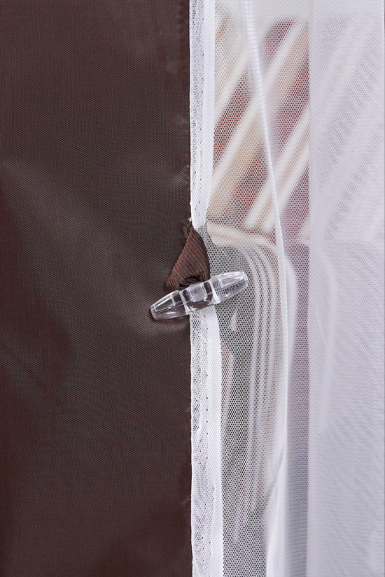 Фото №16 Тент-шатер для садовых качелей (с дугообразной крышей)