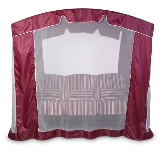 фото Тент-шатер для садовых качелей (с дугообразной крышей)