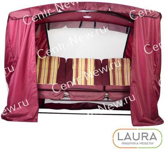 Тент-шатер для садовых качелей фото