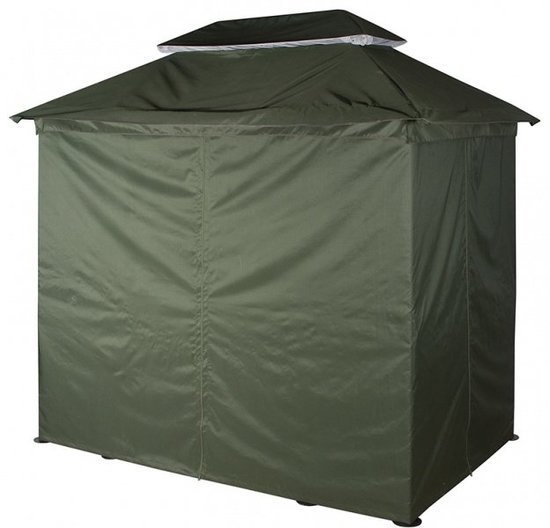 Тент-крыша с чехлом от дождя на качели-беседка фото