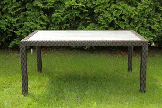 Обеденный стол из ротанга LAVRAS 205 фото
