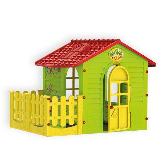 Домик с забором детский фото