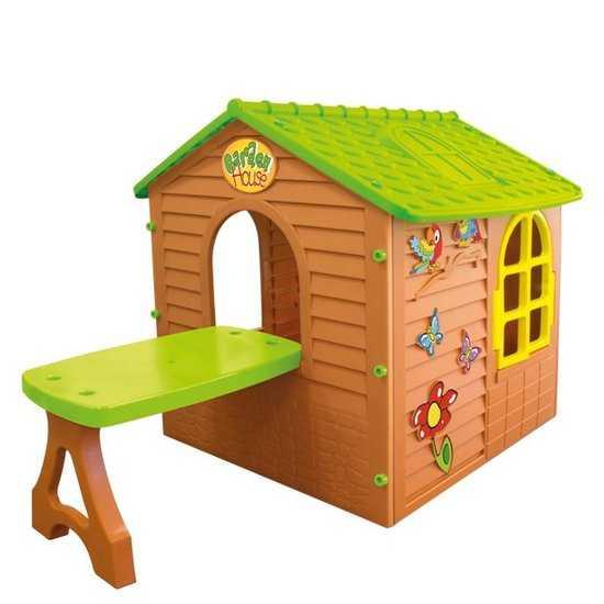 Фото №2 Домик игровой детский со столом арт. 11045