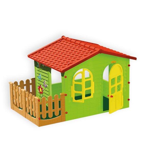 Домик с забором-садовый детский фото