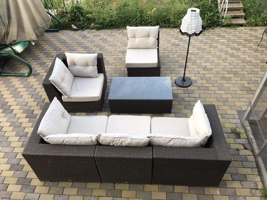 Фото №8 Комплект мебели из искусственного ротанга ИБИЦА