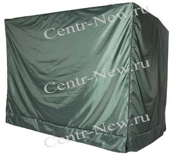 Чехол от дождя для качелей Оазис Люкс (зеленый) фото