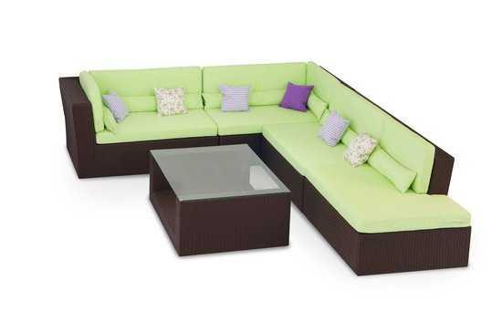 Комплект мебели для отдыха МЕРИБЕЛЬ (угловой) фото