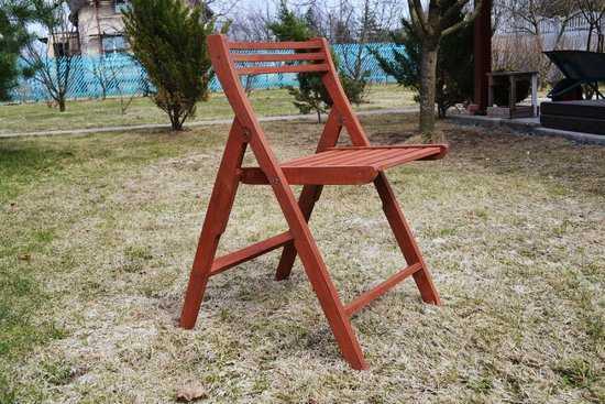 """Деревянный стул """"Лето"""" фото"""