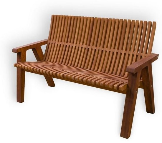 Фото №3 Деревянная скамейка ЛАМЕЛЬ