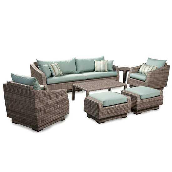 Фото №2 Комплект мебели для отдыха ТРЕНТИНО + диван