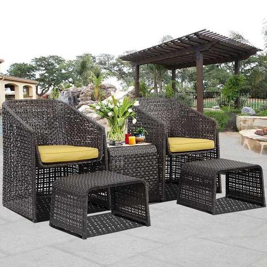 Фото №2 Комплект мебели для отдыха ЛУИЗИАНА