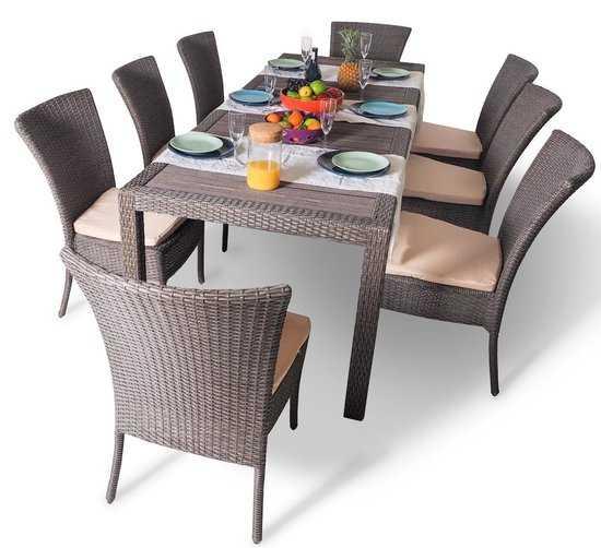 Фото №3 Обеденный комплект со стульями КРИТ