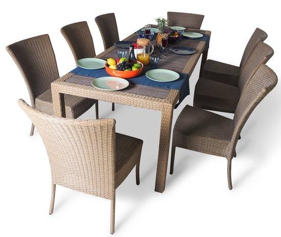 Фото №5 Обеденный комплект со стульями КАПРИ