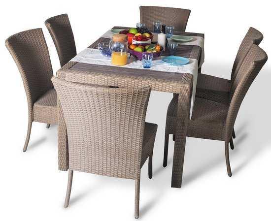Фото №6 Обеденный комплект со стульями КРИТ