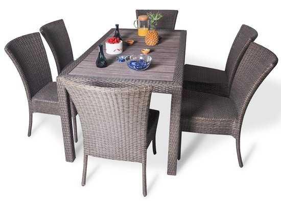 Обеденный комплект со стульями КАПРИ фото