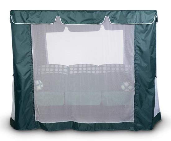 Фото №4 Тент-шатер для садовых качелей (с прямой крышей)