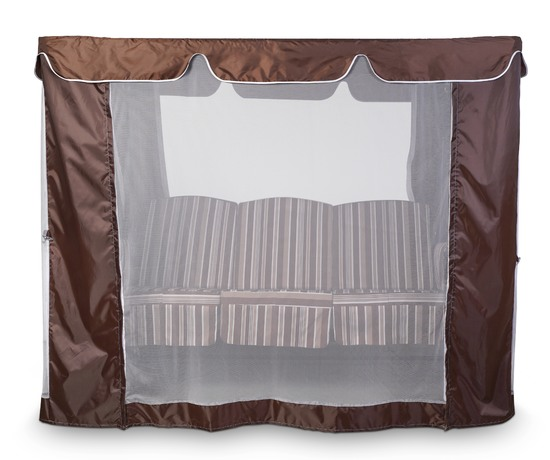 Фото №11 Тент-шатер для садовых качелей (с прямой крышей)