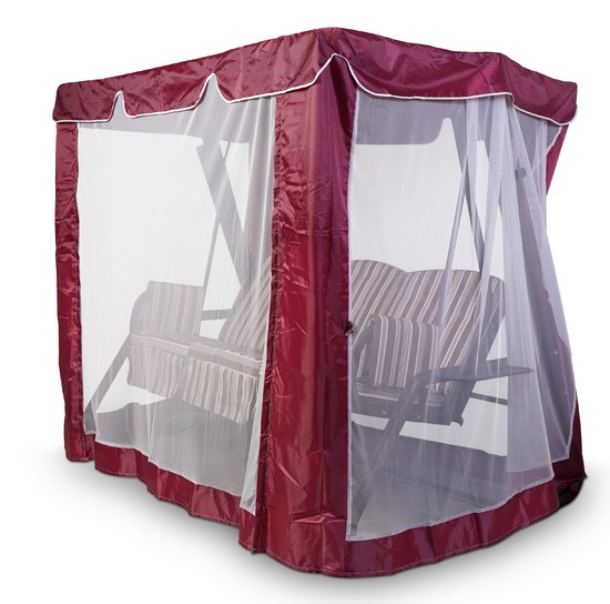 Фото №16 Тент-шатер для садовых качелей (с прямой крышей)