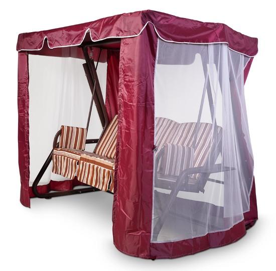 Тент-шатер для садовых качелей (с прямой крышей)