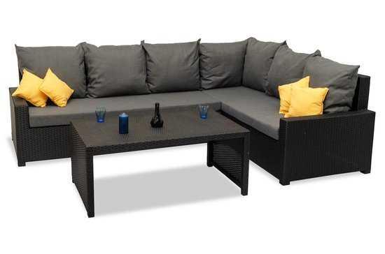 Комплект мебели ФИДЖИ угловой со столом фото
