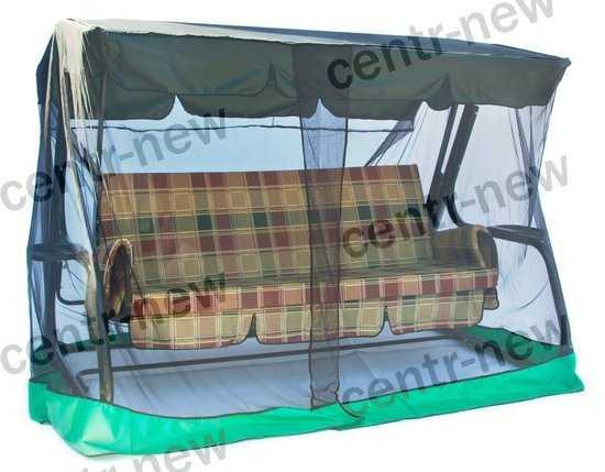 Москитная сетка для садовых качелей Стандарт 2 (180см) фото