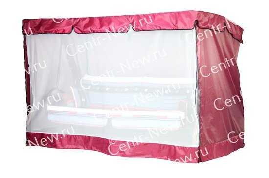 Чехол-москитная сетка 2в1 для садовых качелей Элит Люкс Плюс(с прямой крышей) фото