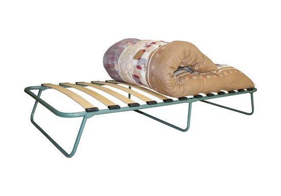 Кровать раскладная КАМИЛЛА-Э (на ламелях), с матрасом из поролоновой крошки  в пленке фото
